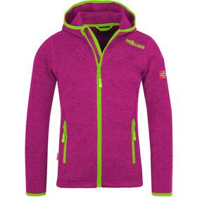 TROLLKIDS Jondalen XT Chaqueta Niñas, pink/green